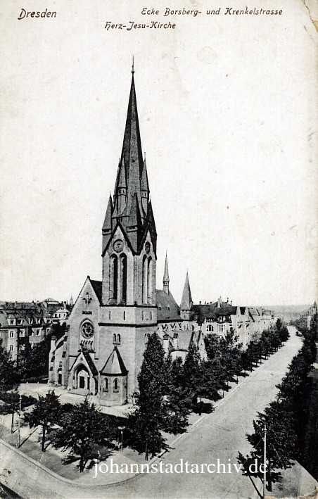 Johannstadtarchiv Herz Jesu Kirche